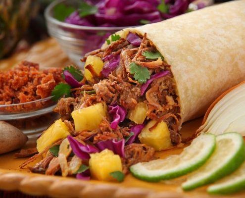Burrito Mexicano de carne picada